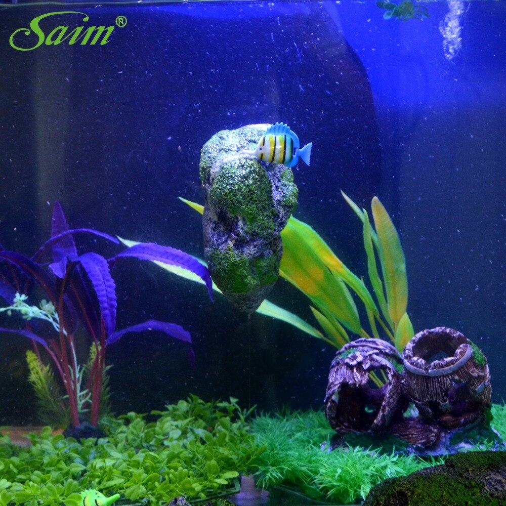 Fish tank aquarium castle hill - New 2017 Artificial Floating Pumice Suspended Stone Aquarium Fish Tank Decoration Moss Flying Rock Aquatic Ornament