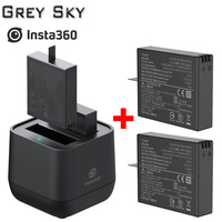 Insta360 ONE X battery and Micro USB Qiuck Battery Charger Hub Panoramic Camera 9V 2A 60 Minutes Fast Charging