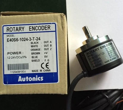 100% New and original AUTONICS E40S6-1024-3-T-24 Encoder 12-24VDC цены