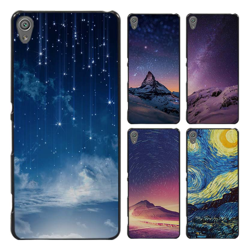 Sky Starry star night Style Case Cover for Sony Ericsson Xperia X XZ XA XA1 M4 Aqua E4 E5 C4 C5 Z1 Z2 Z3 Z4 Z5