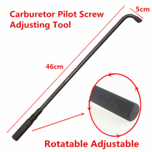 Carburetor wrench Air Mixture Pilot Screw Adjusting Tool Metal 90 Degree
