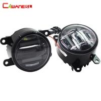 Cawanerl 2 X Car Styling Right + Left LED Fog Light Daytime Running Lamp DRL For Suzuki Grand Vitara Alto Jimny FJ SX4 Swift