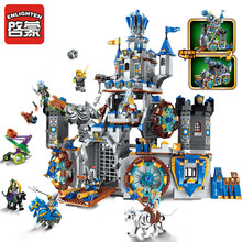 Enlighten 2317 1541pcs War Of Glory Castle Knights Battle Bunker Building Blocks Brick Toys for children конструктор enlighten brick the war of glory 2313 justice mecha 372 дет 243957