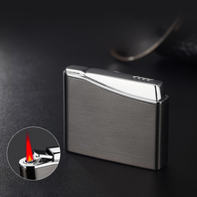 Retro Turbo Lighter gas  Butane Cigarettes Lighters Smoking Accessories Gadgets For Men Metal Smoke