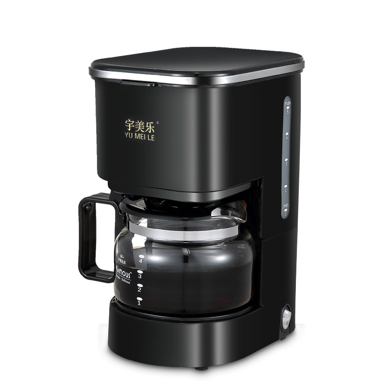 Cafe American Coffee Maker Mini Home Electric Drip Coffee Machine Portable Coffee Pot Coffee Maker Full Automatic Umella SCM0007 small american drip coffee machine pot with full automatic drip coffee maker