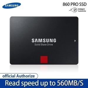 Image 2 - SAMSUNG SSD 860 PRO 256GB 512GB disco rigido interno HDD disco rigido SATA 3 2.5 HHD per PC Desktop portatile 1TB 2TB 4TB