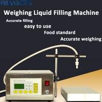 220V Controle Digital Bomba de Líquido Máquina de Enchimento display LCD mini Elétrico Portátil perfume Água bebida de enchimento de garrafas de leite|Conj. ferramentas elétricas| |  -