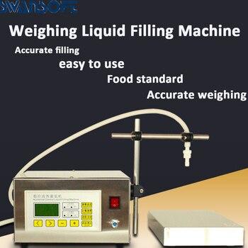 220V Digital Control Pump Liquid Filling Machine LCD display mini Portable Electric perfume Water drink milk bottles filler