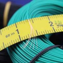Free shipping Bulk 1pin 5 metres super flexible 26AWG PVC insulated  Wire Electric cable, LED cable, DIY Connect 11 color choose
