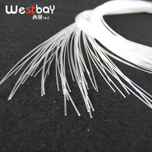 Westbay 0.75mm*2m Optical Fiber 100pcs PMMA Plastic Fiber Optic Cable High Quality Optic Fiber Light For Starry Sky(China)