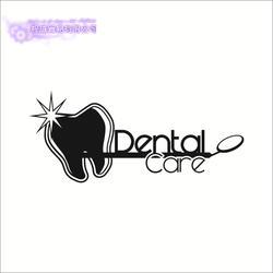 DCTAL стены Стикеры стоматологических Больничные стены Стикеры s, зубы стены переводки украшение для дома росписи