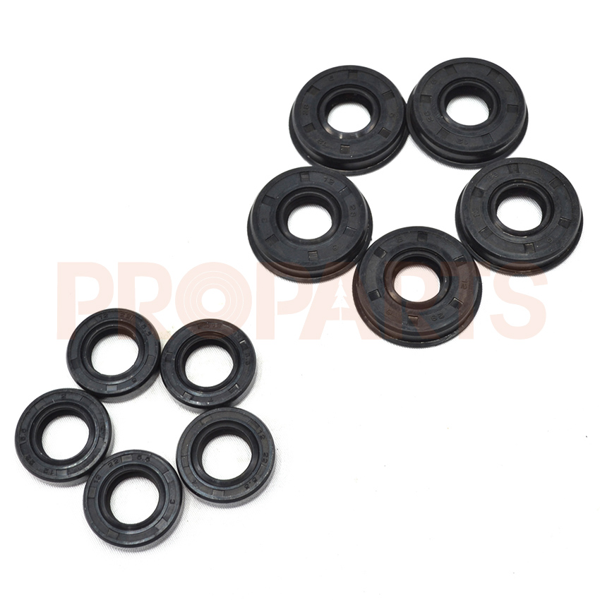 5SETS 2500 Chainsaw 25CC Oil Seal Spare Parts clutch fits for 25cc 25cc 2500 chain saw spare parts