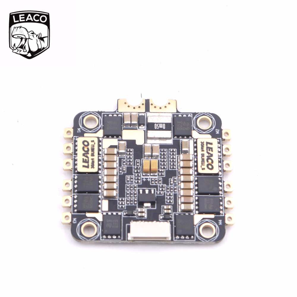 LEACO Typhoon 4in1 S ESC 4x30A Race Verison runs BLHELI_S fimrware supports our ESCLINKER and BLHELIsuit for quadcopter drone norfin typhoon купить в минске