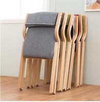 4 PCS free shipping wood folding chair. Eat chair. Recreational chair
