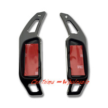 Black  item Does not fits for AMG CLASS  Paddle Shifters Extensions  2PCS  For  Mercedes-Benz  E-Class  W212 2009-2015 2013 2012