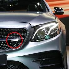 For AMG Logo Front Grill Nameplate Sticker For Mercedes Benz W219 W220 W221 W222 W245 W246