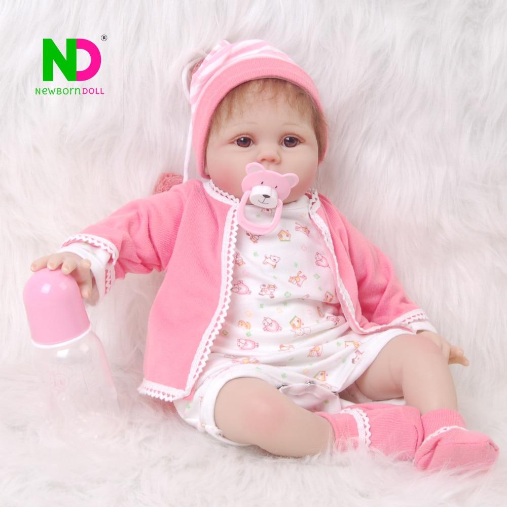Здесь продается  Realista Reborn Baby Doll 55 cm Baby Toys Bebe Reborn Soft Silicone 22