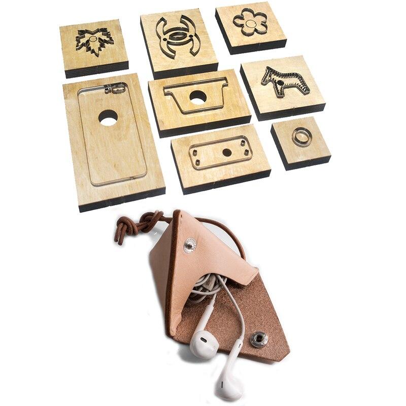 Japan Steel Blade Rule Die Cut Steel Punch Pyramid Zongzi Coin Bag Cutting Mold Wood Dies