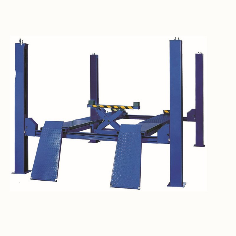 Truck electric 4 post hydraulic car park lift for Sale