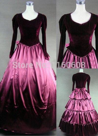 Vestido victoriano gótico púrpura superb StrollGirl brillante Murano cuentas de cristal púrpura 925 encantos de plata ajuste original pulsera de pandora diy joyería que hace regalos para mujeres