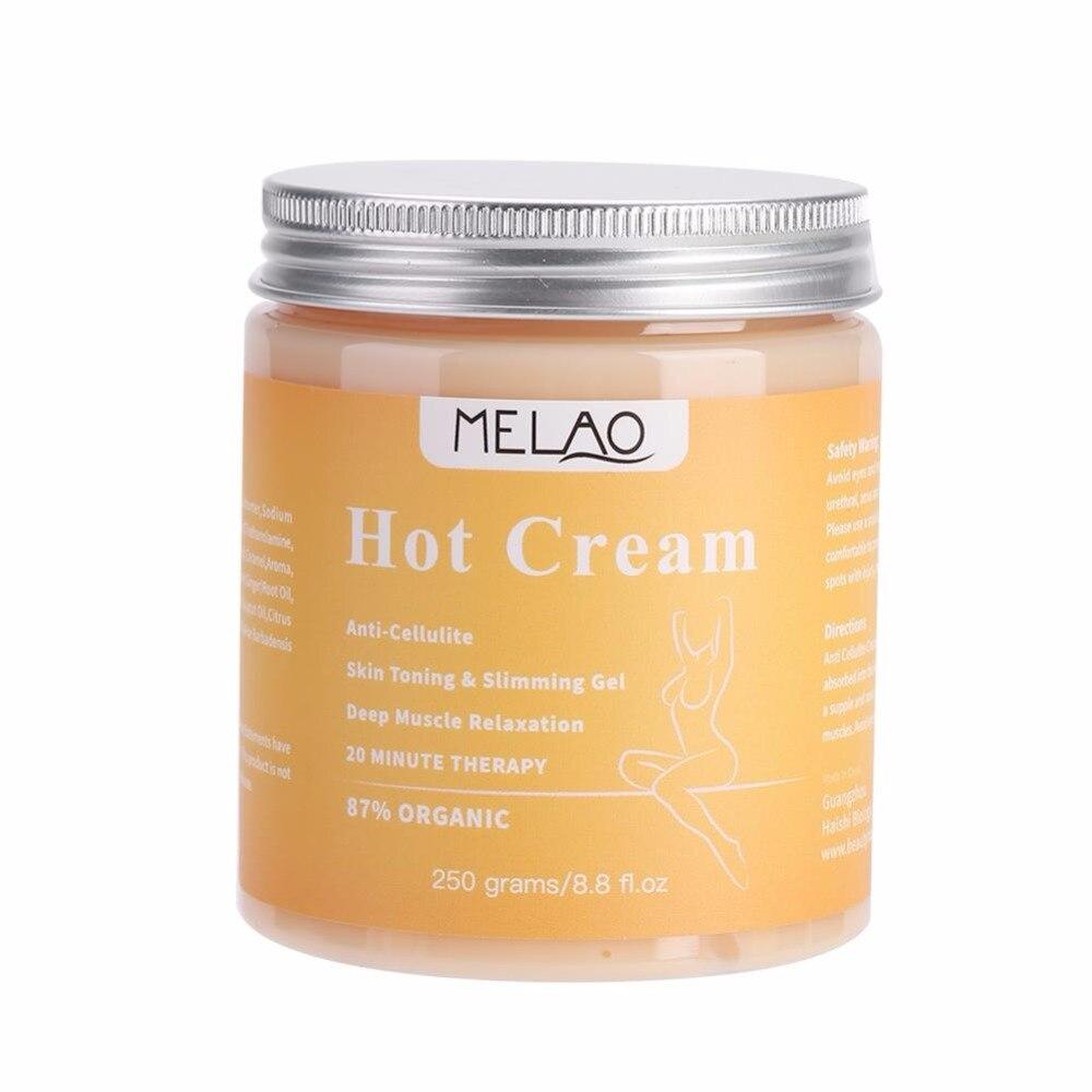 MELAO Cellulite Hot Cream Fat Burner Slimming Cream Massage Hot Anti-Cellulite Body Cream Weight Loss