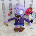 28CM Cute Plants vs Zombies Plush Toys Purple Zombie Baby Toy for Children Gifts Wedding Gifts Hot sales