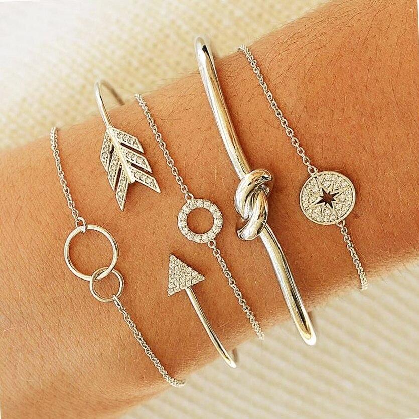 30 стилей микс черепаха сердце жемчуг волна любовь кристалл мрамор браслеты для женщин Бохо ювелирное изделие, браслет с кисточкой - Окраска металла: 3001