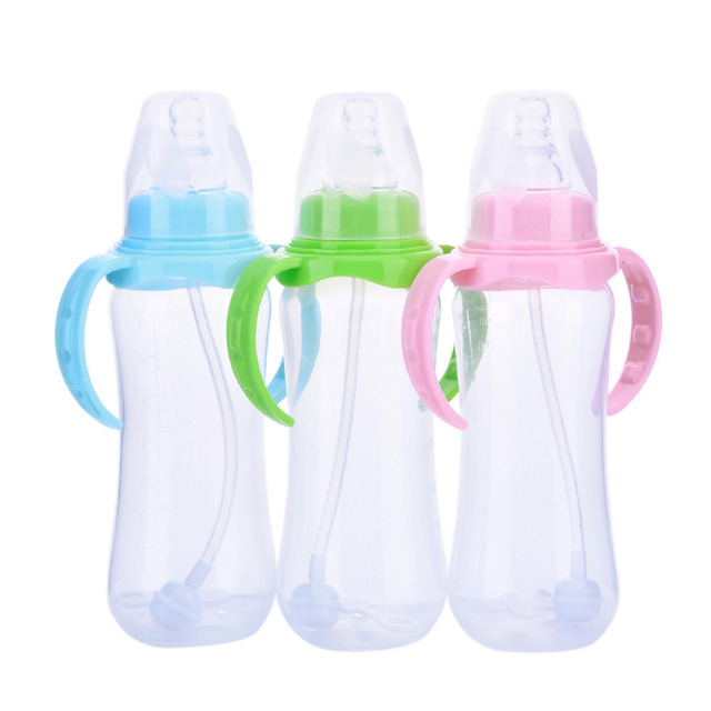 Baby Feeding Bottle with Handles