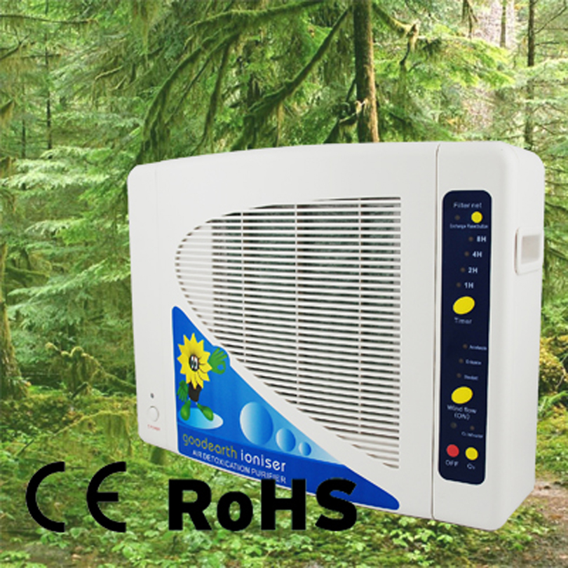Coronwater Hepa filter Air Purifier with function Negative ion and Ozone GL-2108 for Air Cleaning