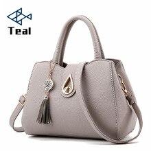 Women's Bags 2019 With Pockets Shoulder Bag Vintage Women Bag Tote Handbags Channels Black Bag Brand Tassel Women Crossbody