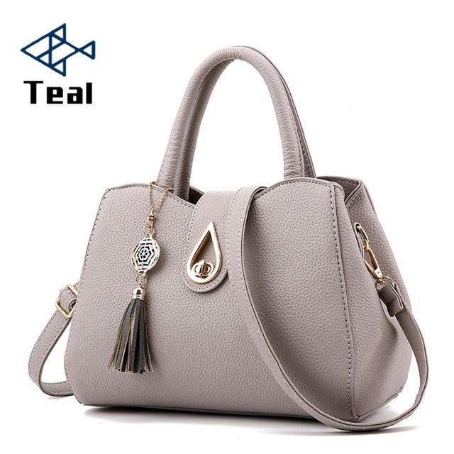 bcec1a20063e Women s Bags 2019 With Pockets Shoulder Bag Vintage Women Bag Tote Handbags  Channels Black Bag Brand