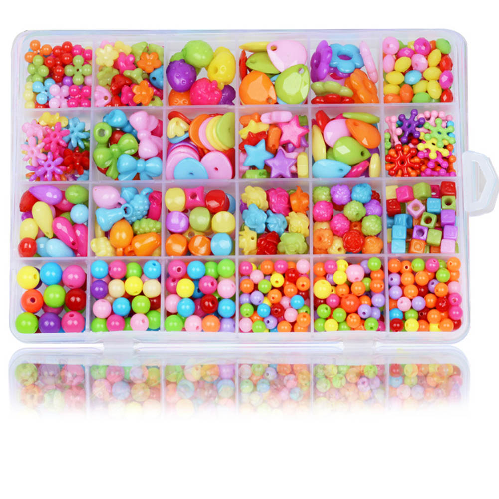 Girl Beads DIY Toys For Children String Beads Make Up Puzzle Toys Jewelry Necklace Bracelet Building Kit Educational Block ToyGirl Beads DIY Toys For Children String Beads Make Up Puzzle Toys Jewelry Necklace Bracelet Building Kit Educational Block Toy