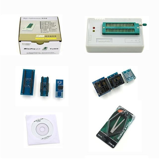 1KIT MiniPro TL866CS Prgrammer USB Universal Programmer /Bios Programme+6 pcs Adapter free shipping