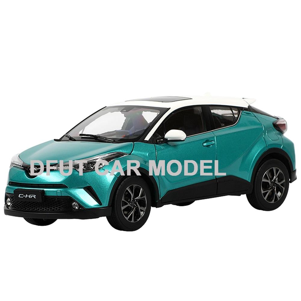 Moulé sous pression 1:18 C-HR CHR voiture modèle moulé sous pression jouet de voiture nouveau dans la boîte pour cadeau/Collection/enfants/décoration