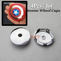 Auto Accessories Free Shipping 60mm 2 36inch Wheel Center Cap For Star Logo Car Wheel Hub