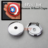Auto Accessories Free Shipping 60mm 2 36inch Wheel Center Cap For Star Logo Car Wheel Hub