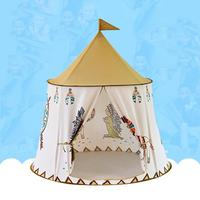 Little Lion Indian Indoor Toy Princess Prince Baby Tent Game House Castle Gifts Toys Tents For Kids Children Baby
