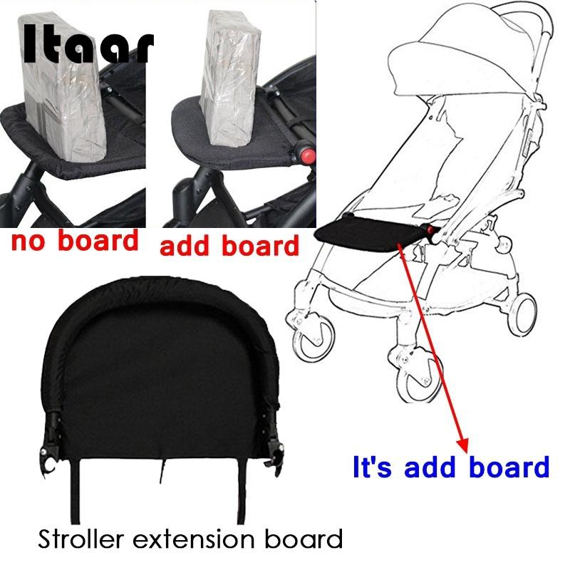 Activity & Gear Generic Baby Stroller Footrest 32cm Bumper Toddler Baby Stroller Booster Feet Infant Baby Stroller Foot Dragging