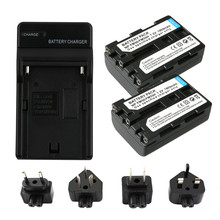 RuigPro NP-FM50 NP FM50 FM55H Batteries Pack For Sony NP-FM51 NP-FM30 NP-FM55H DCR-PC101 A100 Series DSLR-A100