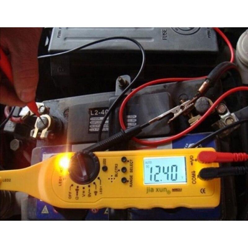 Stylo électrique des véhicules à moteur multifonctionnel de réparation automatique de lampe de multimètre d'appareil de contrôle de Circuit pour détecter l'outil de multimètre de Circuit