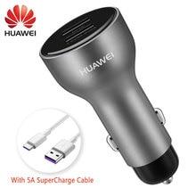 Huawei coche sobrecargar Original rápido cargador rápido Mate 9 10 20 X P10 más P30 20 de tipo profesional de tipo C c Cable Honor 8 V9 V10 10