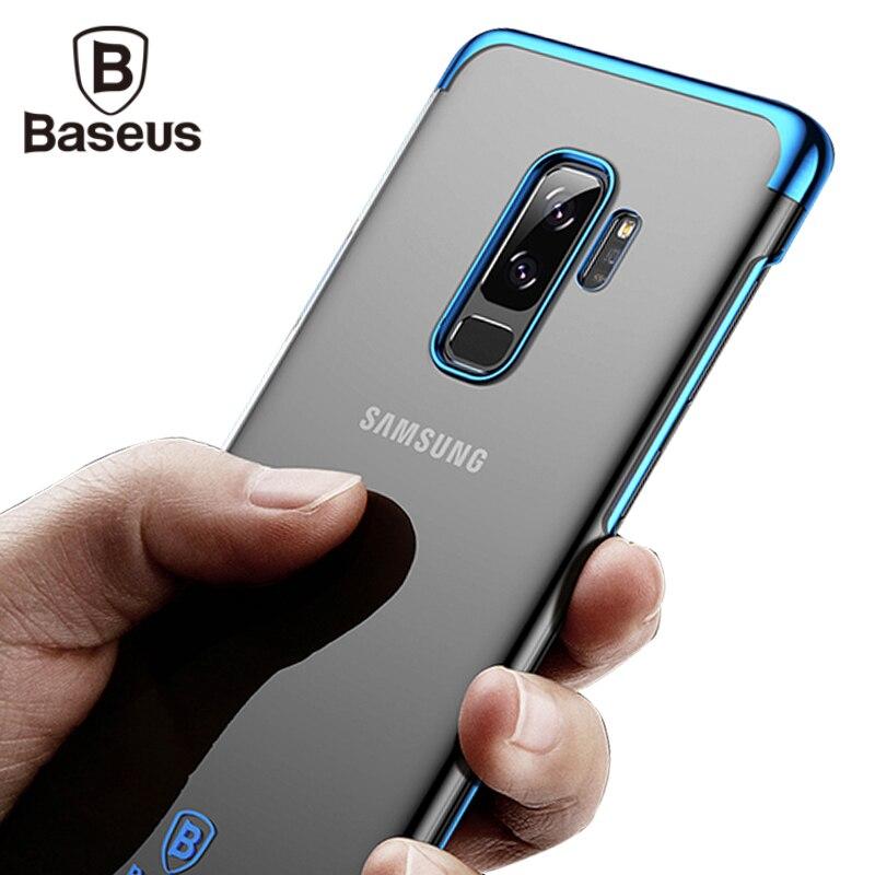 Baseus Luxus Glitter Fall Für Samsung Galaxy S9 S9 Plus Capinhas galvanotechnik Hard PC Rückseitige Abdeckung Für Galaxy S9 S9 + Coque Capa