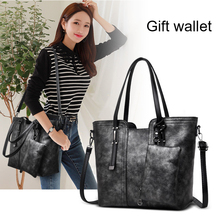 Elegant Bag Vintage PU leather Ladies Handbag High Capacity New  Three-dimensional Shoulder Bags for Women