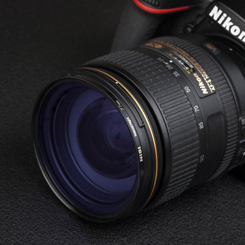 NiSi 77mm 82mm 67 72/95/55/49/46/58mm Noite Naturais filtro Filtro de Poluição Luminosa