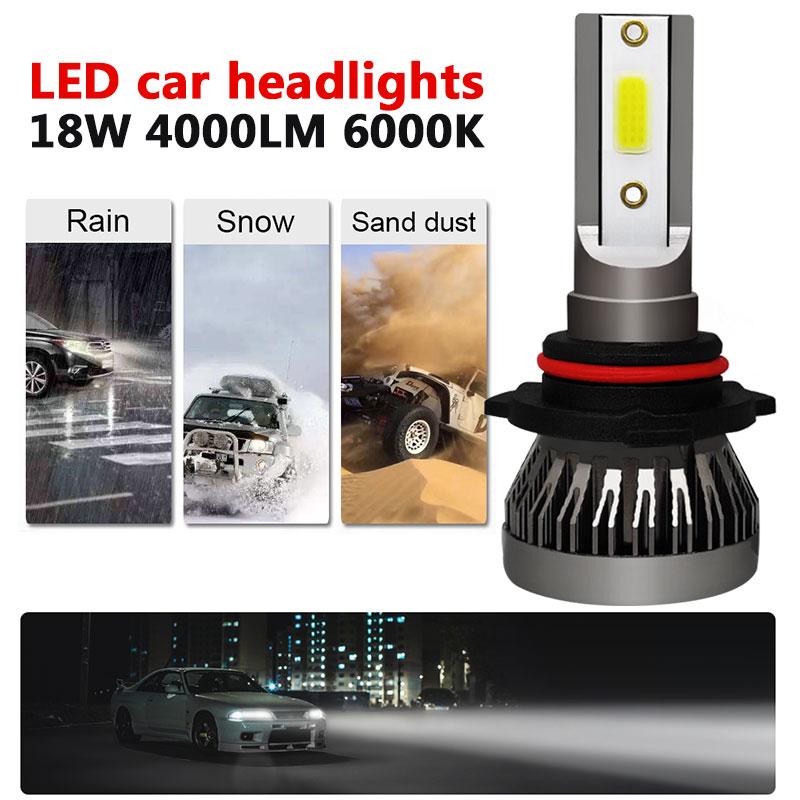 1 шт. H7 светодиодный H1 9012 9005 9006 H11 H4 HB4 HB3 H8 H9 H11 6000 К Автомобильный светодиодный светильник головной светильник с can-bus безопасности Супер яркий головной светильник лампы