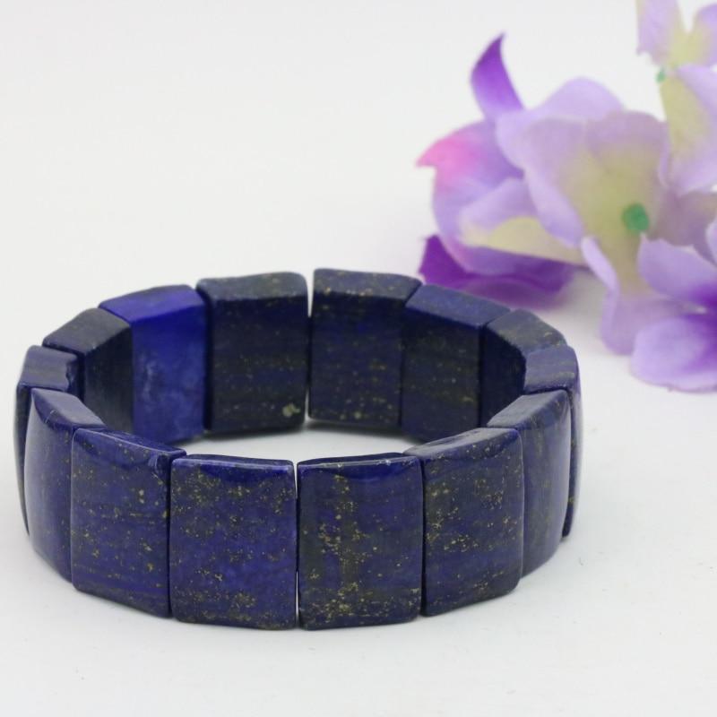 Neue Lapis Lazuli Stein Armband Für Frauen Luxus Marke Trendigen Charme Armbänder Femme Variierte Arten Großhandel Und Einzelhandel