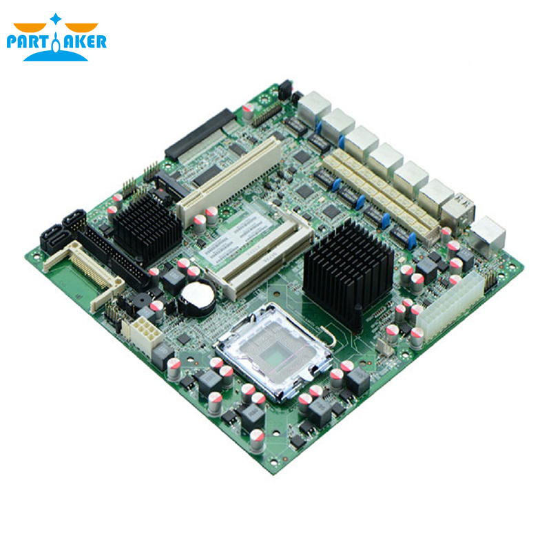 6 Ethernet ports G41XE Motherboard LGA771 DDR3 firewall motherboard ...