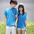 2016 Niños y niñas primavera verano casual camiseta de los hombres de alta calidad de los hombres de manga corta camiseta parejas style clothing t camisa