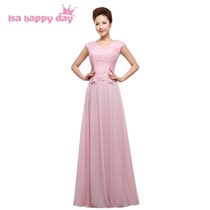 light pink bridesmaids dress gown womens bridesmaid dresses long ...