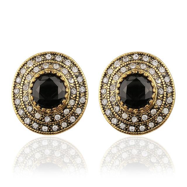 large stud earrings women
